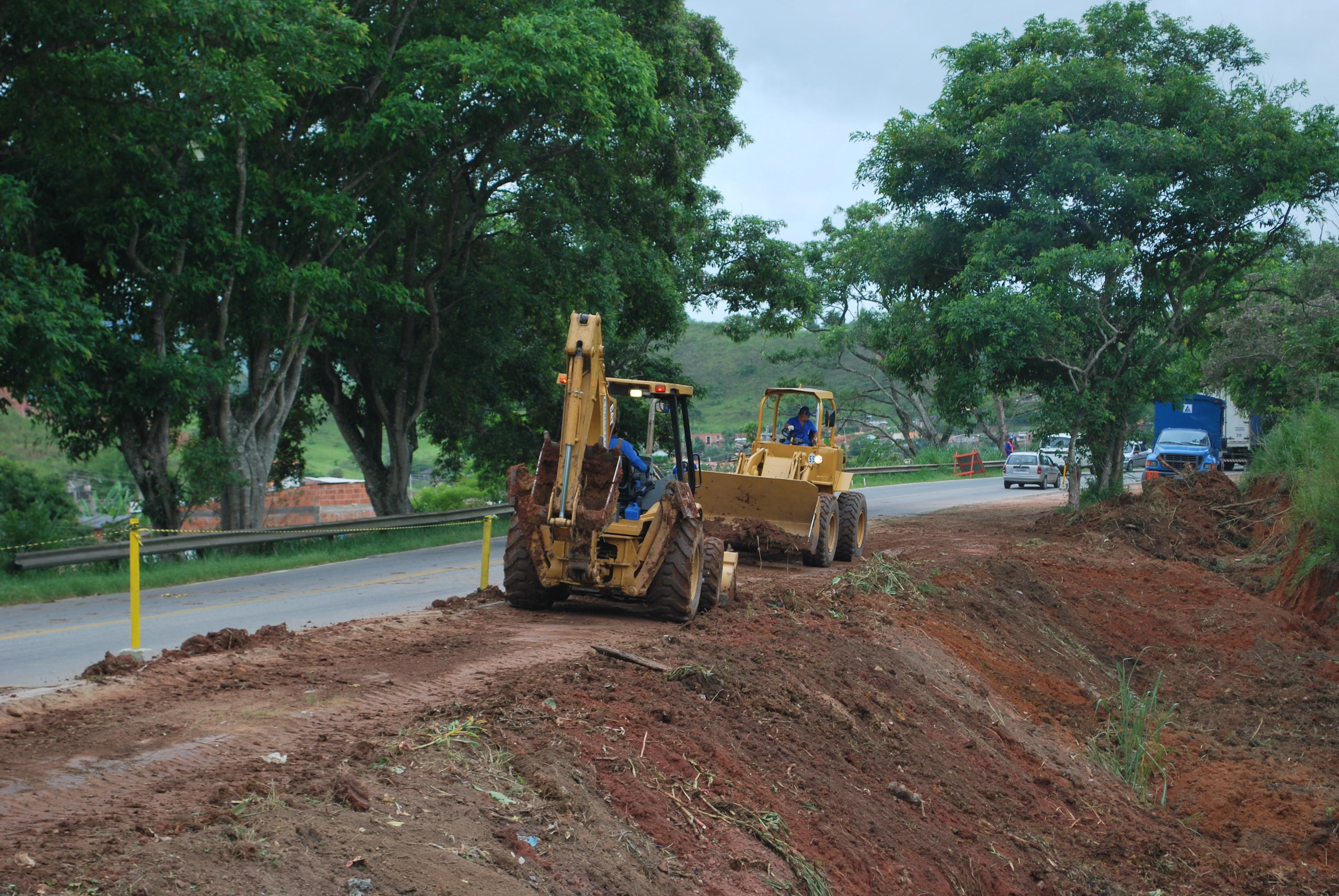 Iniciada a obra de asfaltamento Valença x Barra do Piraí ...